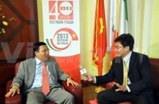 Développement de la coopération entre le Vietnam et l'Italie