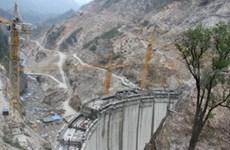 Centrale  Nâm Chiên I:1er turboalternateur en activité