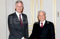 Entrevue entre le leader du PCV et le prince héritier belge