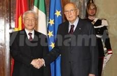 VN et Italie approfondissent leurs relations de coopération