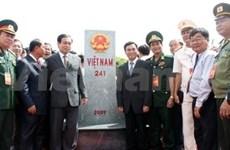 Echange amical entre localités vietnamiennes et cambodgienne