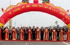 Ouverture à la circulation du tronçon de la Nationale N°3 à Thai Nguyen