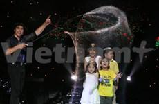Fan Yang, le maître des bulles de savon, sera de retour