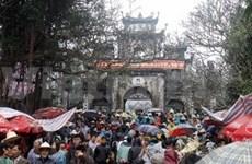 Pèlerinage: inauguration de la fête de la pagode Huong