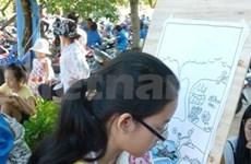 Lancement d'un concours de peinture sur la protection des ressources en eau