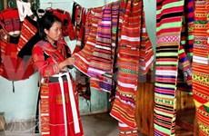 L'artisanat du brocart Pà Then de Hà Giang