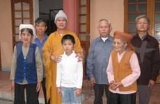 La pagode Phuc Son s'engage pour les enfants déracinés