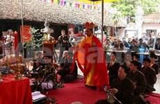Commémoration de l'anniversaire de la mort de l'ancêtre du Hat Xâm
