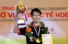 Echecs : le numéro un du Vietnam progresse dans deux classements mondiaux