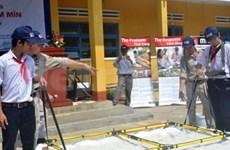 Le Mines Advisory Group sensibilise les collégiens de Quang Nam