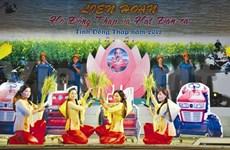 """Les hauts et les bas du """"hò Dông Thap"""""""