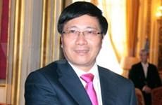 Le ministre des A.E en réunion au Brunei