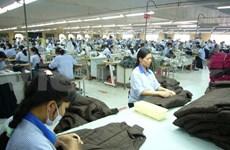 Bond des exportations nationales de textile et d'habillement
