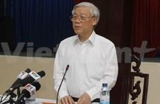 Le chef du PCV en visite à Binh Duong