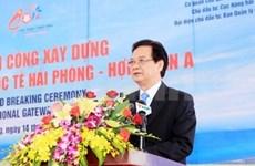 Le PM ordonne la construction d'un port international