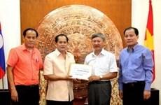 Soutien des Viêt kiêu à l'armée et la population de Truong Sa