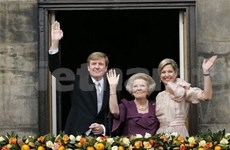 Félicitations au nouveau roi des Pays-Bas