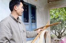Van Thinh, le dernier fabricant d'arbalètes à Yên Thê
