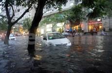 Hanoi se protège contre les inondations