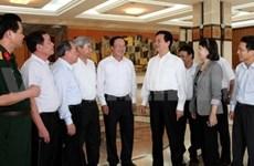 Le PM à l'écoute des électeurs de Hai Phong