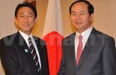 Le ministre vietnamien de la Sécurité publique au Japon