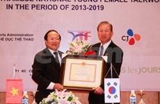 Le sud-coréen CJ soutient le taekwondo féminin