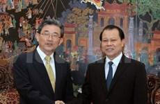 Le vice-PM Vu Van Ninh reçoit un responsable de l'AN sud-coréenne