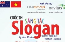 Concours de slogans sur les relations Vietnam-Australie