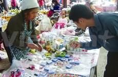 À Nghê An, sur le marché frontalier de Nâm Can
