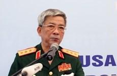 Une délégation militaire du Vietnam au 12e dialogue Shangri-La