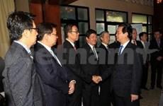 Le PM rencontre des géants économiques de Singapour