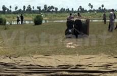 Le Vietnam en manoeuvres d'assistance humanitaire au Cambodge