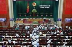 Cinq membres du gouvernement devant les députés