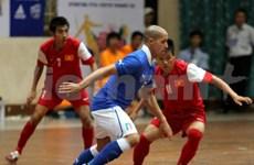 L'équipe vietnamienne de futsal en Italie