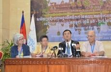 Le Comité du patrimoine mondial réuni au Cambodge