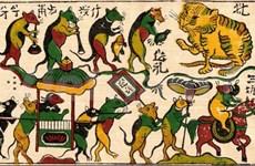 Du papier dó aux estampes populaires de Dông Hô