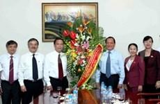 Le secrétaire du Comité du Parti de HCM-Ville rend visite à la VNA