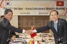 Vietnam et R. de Corée réunis sur l'environnement