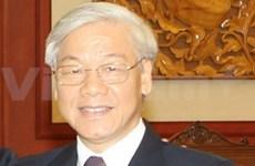 Nguyen Phu Trong part pour la Thaïlande