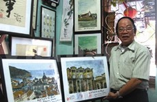 Minh Nhàn, l'artiste qui joue sur deux tableaux