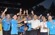 Football : tournoi des étudiants vietnamiens en R. de Corée