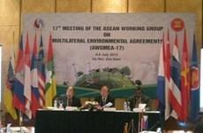 ASEAN: les officiels discutent de l'environnement à Hanoi