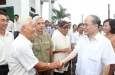 À Ninh Binh, le chef de l'AN parle agriculture, ruralité, paysannie