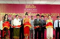Ouverture de la foire commerciale Vietnam-Laos 2013
