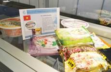 Les produits de Vifon dans les rayons de plusieurs supermarchés étrangers