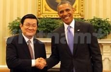 Succès de la visite officielle du chef de l'Etat vietnamien aux Etats-Unis