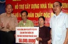 Dioxine : Nguyên Thiên Nhân rend visite à Bac Giang