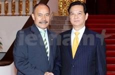 Entrevue Nguyen Tan Dung - Jerry Mateparae