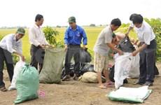 Tien Giang: mise en oeuvre du projet d'agriculture à faible émission de carbone