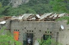 Une mini-tornade cause des dégâts à Cao Bang
